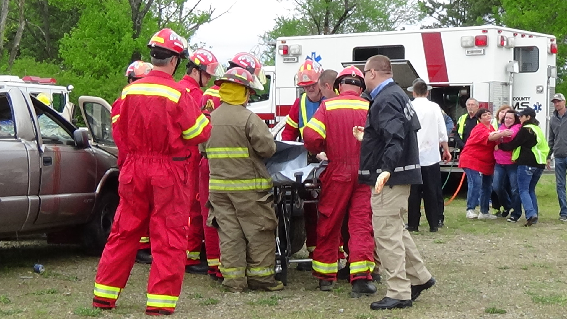 Emotions Fly at Local High-School Accident Reenactments - Lacey ...